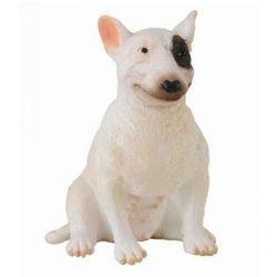 Pies rasy Bullterier, suka - figurka - COLLECTA. DARMOWA DOSTAWA DO KIOSKU RUCHU OD 24,99ZŁ