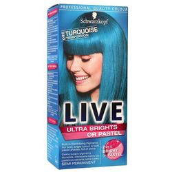 Schwarzkopf Color Live Farba do włosów 96 kuszący turkus - Schwarzkopf