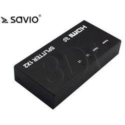 Splitter Savio CL-42 ( wejścia: 1 x HDMI (F) wyjśćia: 2 x HDMI (F) 1920x1200pix 340MHz )- wysyłka dziś do godz.18:30. wysyłamy jak na wczoraj!