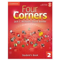 Four Corners 2 Student's Book with Self-study CD-ROM and Online Workbook (opr. twarda)