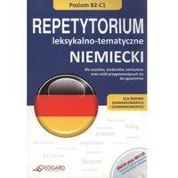 Książki do nauki języka, Niemiecki. Repetytorium leksykalno-tematyczne B2-C1 + CD MP3 (opr. miękka)