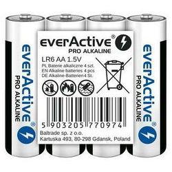 Baterie paluszki AA LR6 everActive Pro Alkaline 4 sztuki alkaliczne