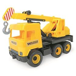 Middle truck - Dźwig żółty