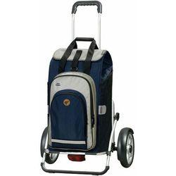 Andersen Shopper Royal Shopper Plus Hydro 2.0 Wózek na zakupy 67 cm blau ZAPISZ SIĘ DO NASZEGO NEWSLETTERA, A OTRZYMASZ VOUCHER Z 15% ZNIŻKĄ