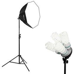 Lampa światła stałego SOFTBOX octa 70cm 4x 85W 300cm