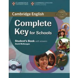 Complete Key for Schools Student's book with answers with CD-ROM (opr. miękka)