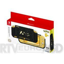 Hori Switch Lite Hybrid System Armor Pikachu Black & Gold