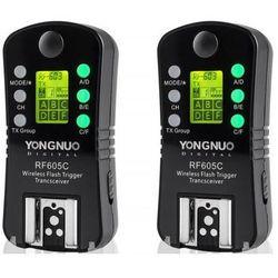 Wyzwalacz radiowy YONGNUO YN605C do Canon (2 sztuki)