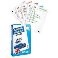 Książki do nauki języka, Rozmówki angielskie i Karty do gry 2w1 - KINGA PERCZYŃSKA (opr. twarda)