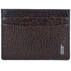 Hartmann Memphis west Etui na karty kredytowe skórzane 10 cm dark brown ZAPISZ SIĘ DO NASZEGO NEWSLETTERA, A OTRZYMASZ VOUCHER Z 15% ZNIŻKĄ