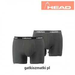 Bokserki męskie HEAD White Black Grey