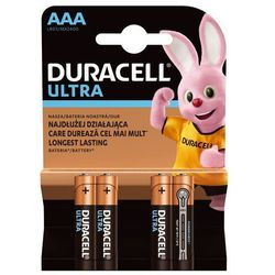 Baterie DURACELL Ultra Power AAA 4szt.