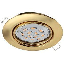 Eglo Peneto 94405 oczko lampa oprawa wpuszczana downlight 1x5W GU10-LED mosiądz