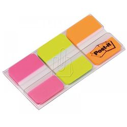 Zakładki indeksujące Post-it do archiwizacji silne mix kolorów pastelowych