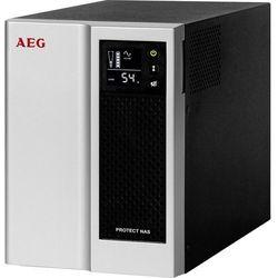 AEG Protect NAS Technologia line-interactive 500VA 4AC outlet(s) Czarny, Srebrny zasilacz UPS