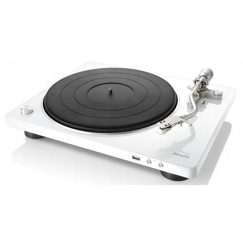 Gramofony, DENON DP-450USB BIAŁY - automatyczny gramofon analogowy | USB | Raty 0% | Gwarancja 3-lata