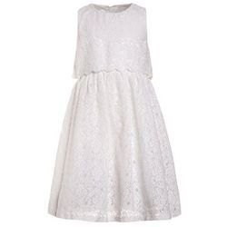 mint&berry girls GLITTER DRESS OLD Sukienka koktajlowa bright white