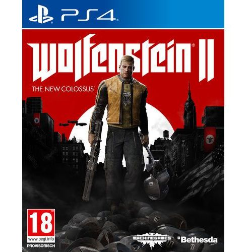 Gry PS4, Wolfenstein 2 The New Colossus (PS4)
