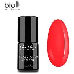 Lakier Hybrydowy UV NeoNail - Crazy Coral - 6 ml