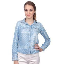 Pepe Jeans koszula damska Freedom S niebieski - BEZPŁATNY ODBIÓR: WROCŁAW!