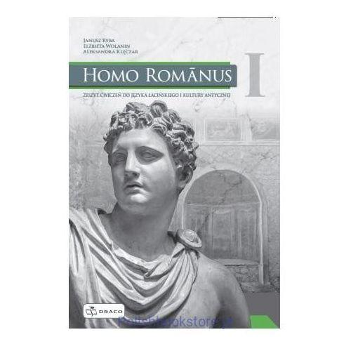 Książki dla dzieci, Homo Romanus 1 Zeszyt ćwiczeń do języka łacińskiego i kultury antycznej (opr. broszurowa)