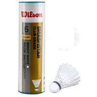 Badminton i speedminton, Lotki badm.Wilson Smashstar 6szt białe 78 6050