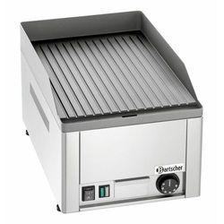 Płyta grillowa elektryczna ryflowana nastawna | 320x480mm | 3000W