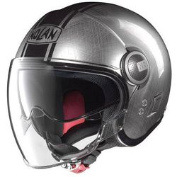 KASK NOLAN N21 VISOR DUETTO 27 SCRATCHED CHROME
