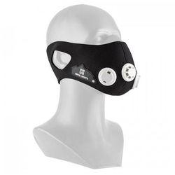 Breathor maska treningowa wysokogórska 7 nasadek rozmiar M czarna