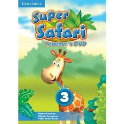 Super Safari 3 Teacher's DVD (Płyta DVD)