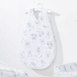 Śpiworek do spania niemowlęcy Bubble - Misie Szare