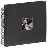 Fotoalbumy, Hama Album FINE ART 28x24/50 czarna okładka/ czarne kartki