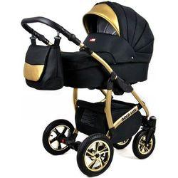 Sun Baby wózek 3w1 Raf-pol Gold LUX onyx - BEZPŁATNY ODBIÓR: WROCŁAW!