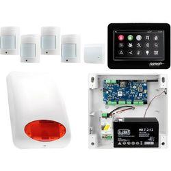 NeoGSM-IP Aero System alarmowy 4x czujka bezprzewodowa Powiadomienie GSM Wifi Zestaw