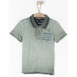 s.Oliver koszulka polo chłopięca 104/110 ciemnoszara - BEZPŁATNY ODBIÓR: WROCŁAW!