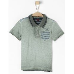s.Oliver koszulka polo chłopięca 116/122 ciemnoszara - BEZPŁATNY ODBIÓR: WROCŁAW!