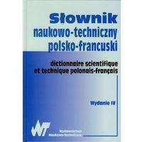 Słowniki, encyklopedie, Słownik naukowo techniczny polsko francuski (opr. twarda)