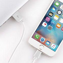 PURO Kabel połączeniowy USB Apple złącze Lightning MFi 0,2m (biały)