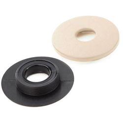 Stopery okrągłe beżowe do dywaników samochodowych (8 sztuk)