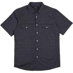 koszula BRIXTON - Wayne Washed Black 0141 (0141) rozmiar: L