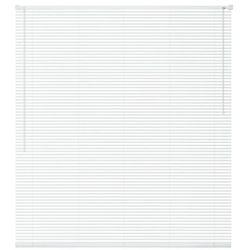 vidaXL Żaluzja plastikowa PVC, biała 160x160 cm Darmowa wysyłka i zwroty