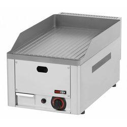 Płyta grillowa gazowa ryflowana | 330x480mm | 4000W | 330x580x(H)220mm