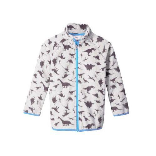 Bluzy dla dzieci, Bluza rozpinana z polaru bonprix jasnoszary melanż