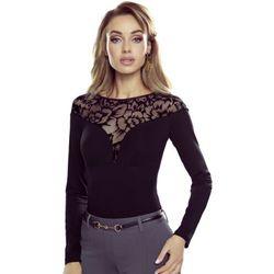 Agata bluzka damska Eldar Romantica Top Czarna Nowości (-8%)