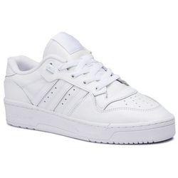 Buty adidas - Rivalry Low EF8729 Ftwwht/Ftwwht/Cblack, kolor biały