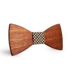 Chłopięca muszka drewniana s51 marki Niwatch