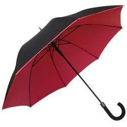 Smati - długi parasol - podwójna tkanina - czerwony