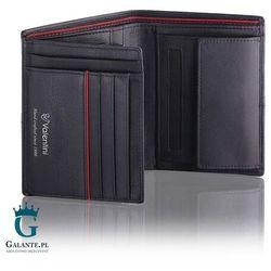 Portfel męski Valentini 154-266 Ferrari Red & Black, 154-266