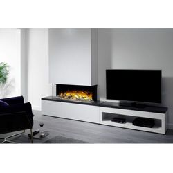 Kominek wolnostojący Flamerite Fires Tropo 1000 CB Link z szafką pod TV.Efekt płomienia Nitra Flame-20 kolorów ognia-PROMOCJA