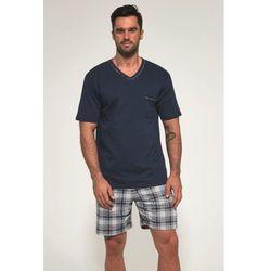 Bawełniana piżama męska Cornette 329/96 James granatowa, 329/96 James